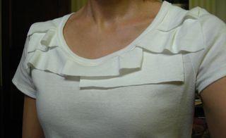 sew knit top