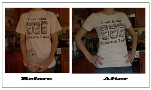 re-sized T shirt